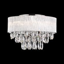 Kuzco Lighting Inc 544008 - Eight Lamp Ribbed Glass Rod Shade Ceiling